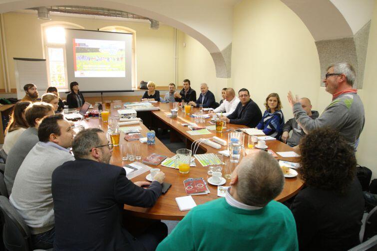 Na spotkanie przed Rowerowym Majem 2017 przejechali przedstawiciele ponad 20 miast z Polski