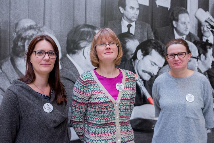 Komitet strajkowy zwykłych, wkurzonych matek. Od lewej: Anita Czarniecka, Anna Kacmajor i Ilona Kulikowska