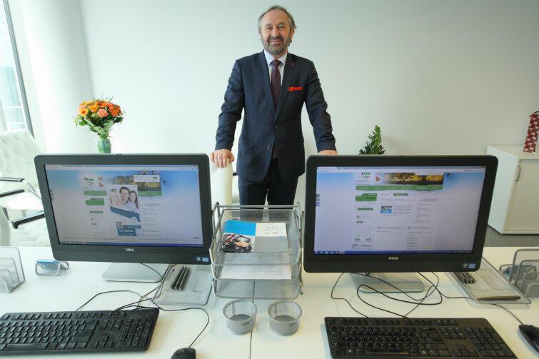 Roland Budnik - dyrektor Powiatowego Urzędu w Gdańsku