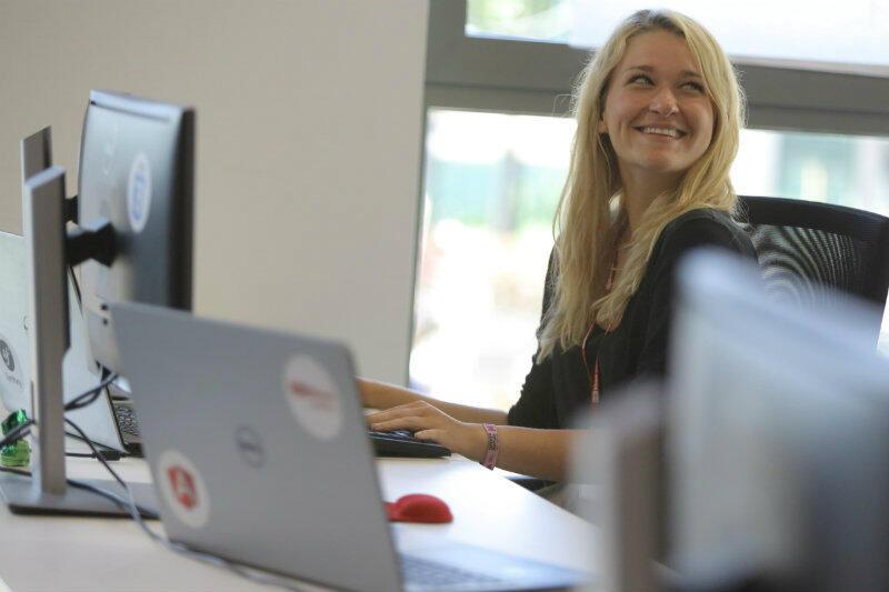 Gabriela Król - jedna z absolwentek kursów dla programistów infoShare Academy