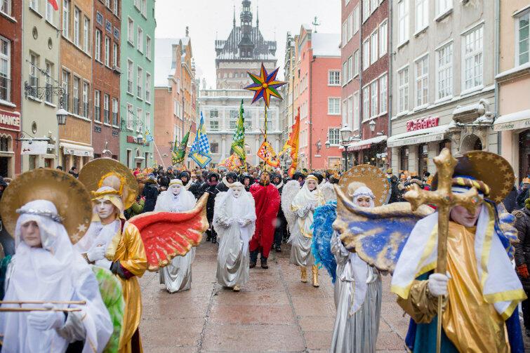 Parada z okazji święta Trzech Króli udała się znakomicie mimo 8-stopniowego mrozu