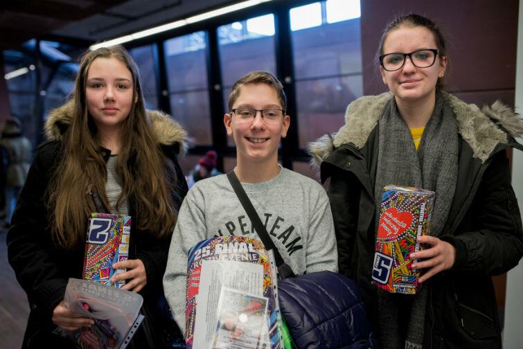 W Gdańsku pieniądze zbiera ponad 1000 wolontariuszy