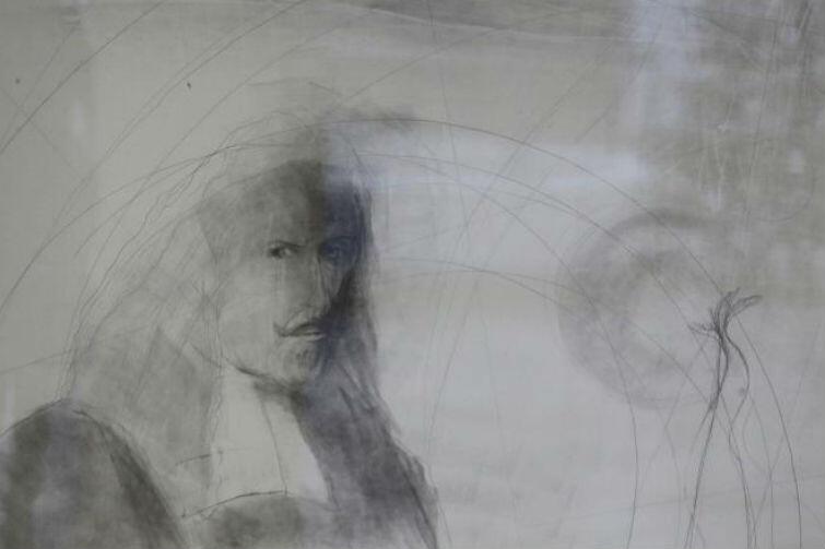 Jan Heweliusz na jednej z rycin podczas wystawy z okazji 500-lecia reformacji
