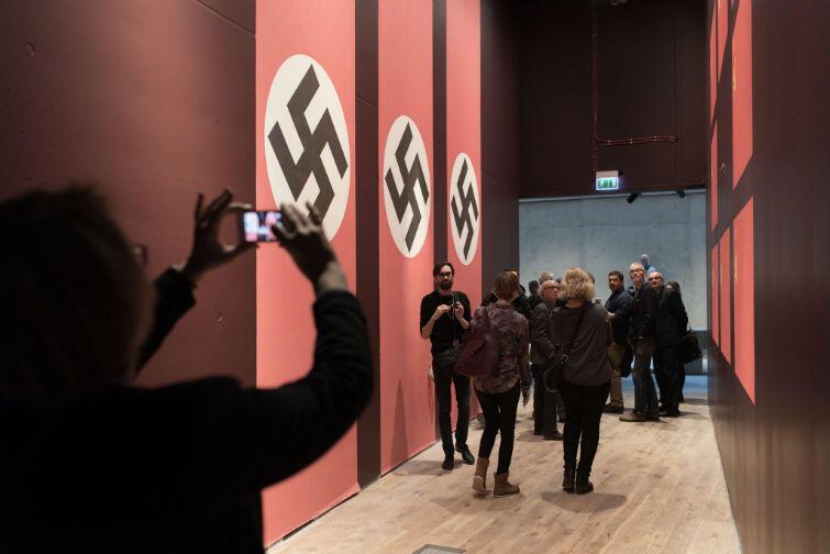 Korytarz poświęcony paktowi Ribbentrop - Mołotow