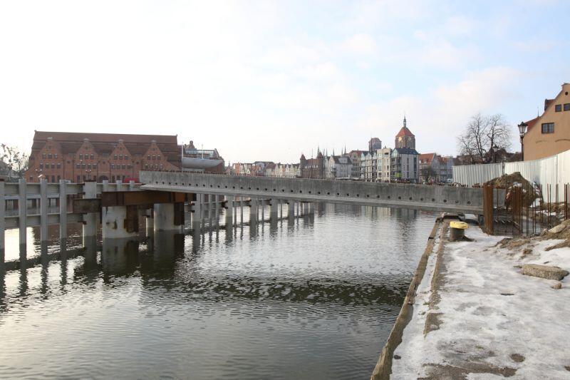 W lutym dotrą do Gdańska elementy zwodzonej części mostu