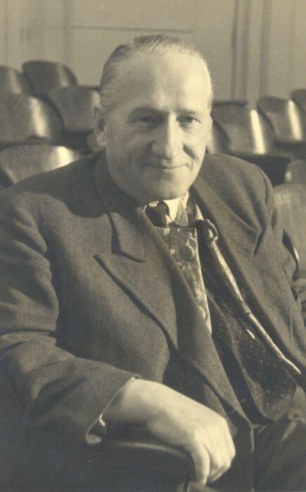 Iwo Gall, założyciel i pierwszy dyrektor artystyczny Teatru Wybrzeże