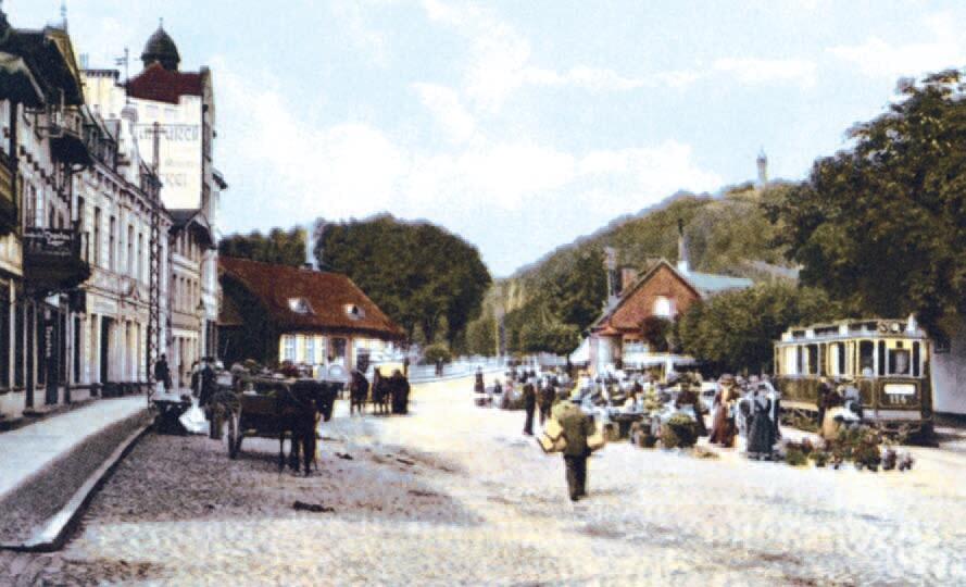 W 1908 roku pojechały tramwaje z Oliwy do Jelitkowa