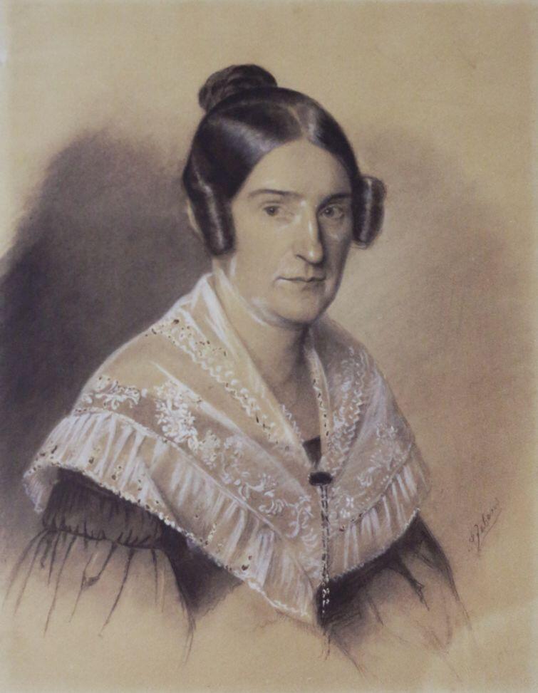 Portret kobiety, A. Jebens