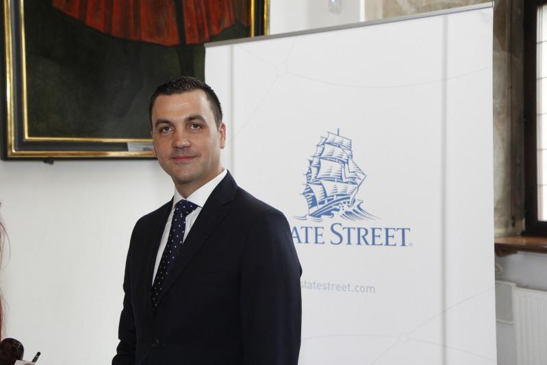 Scott Newman - dyrektor zarządzający i w-ce prezes polskiego oddziału State Street Bank otrzymał tytuł Manager Roku
