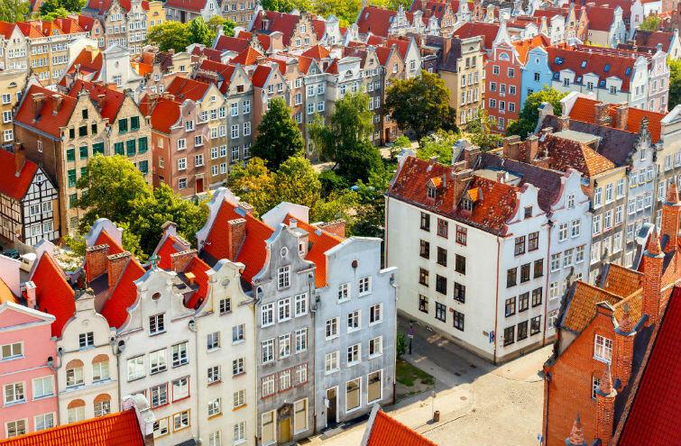 Gdańsk na stronie konkursu European Best Destination