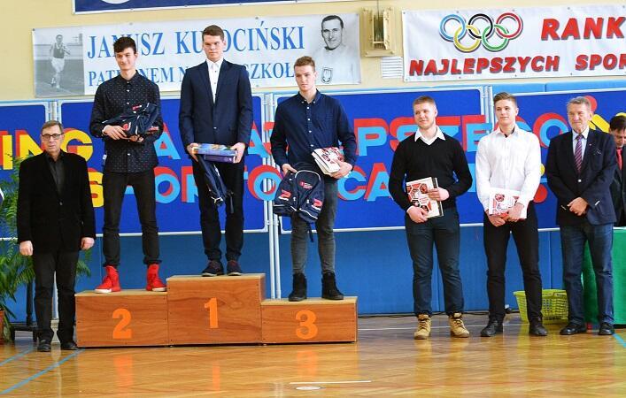 Nagrodzeni młodzi sportowcy