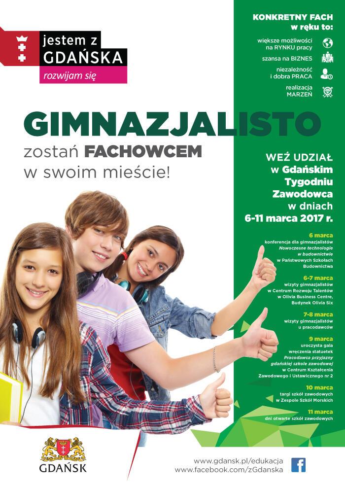Krok pierwszy: weź udział w Gdańskim Tygodniu Zawodowca!