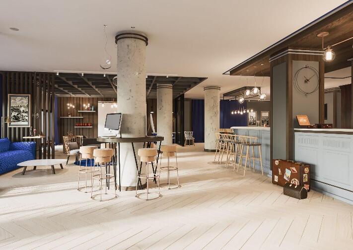 W Hotelu Number One trwają ostatnie prace wykończeniowe, m.in. w lobby