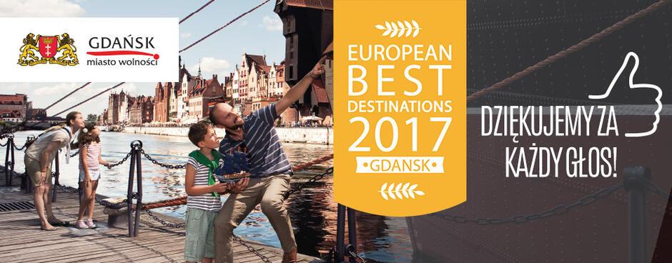Gdańsk na podium najatrakcyjniejszych miast Europy