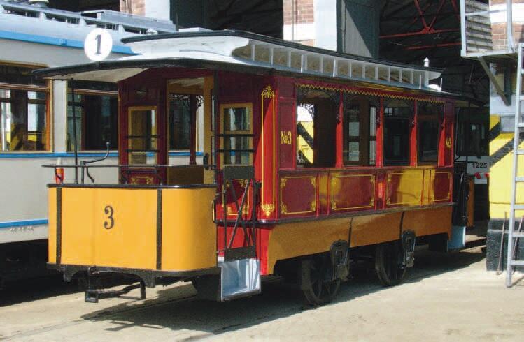 Jeden z dawnych wozów tramwaju konnego został odnowiony i jest prezentowany przy różnych okazjach