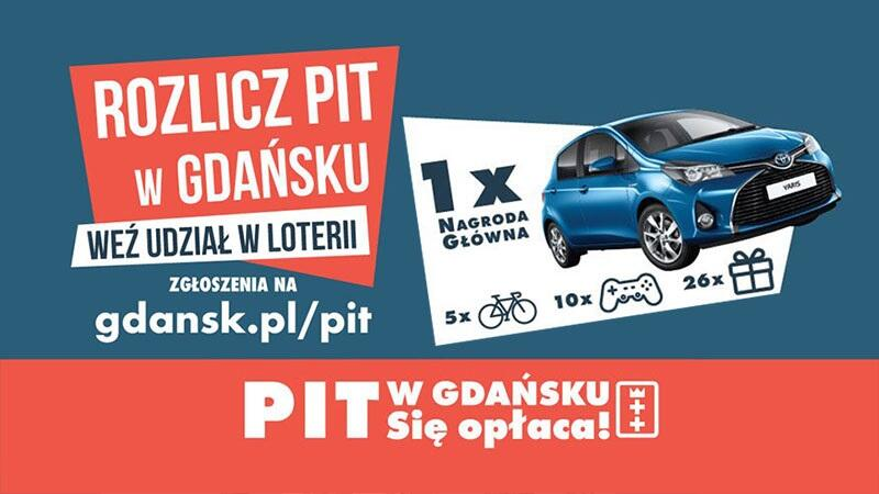 PIT w Gdańsku. Się opłaca! - nowa akcja dla mieszkańców naszego miasta