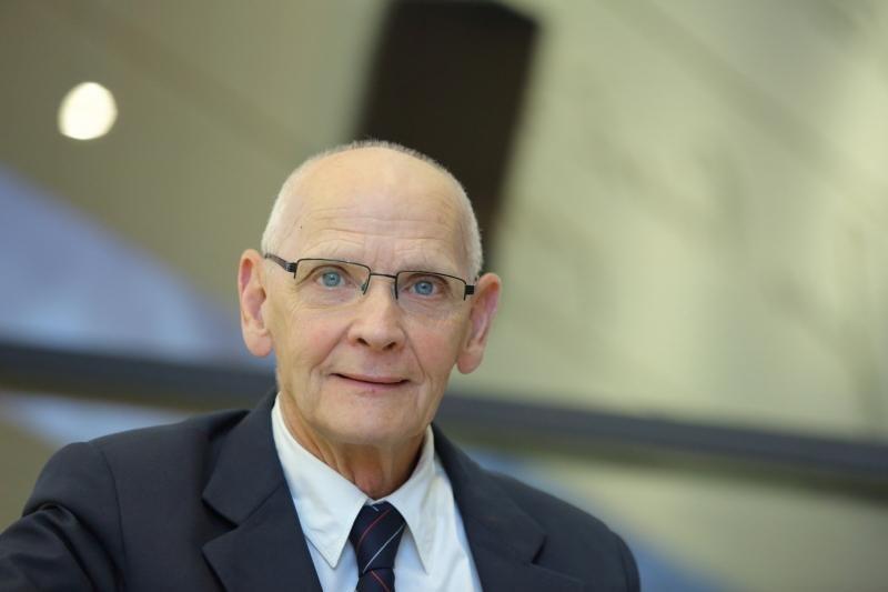 Jacek Taylor na spotkaniu w ECS, wrzesień 2016
