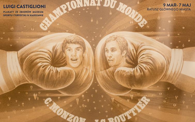 Praca z okazji walki bokserskiej między Monzonem a Bouttierem (czerwiec 1972 r.) zapoczątkowała nowy, rewolucyjny styl komunikacji plakatowej. Była pierwszym plakatem sportowym Castiglioniego