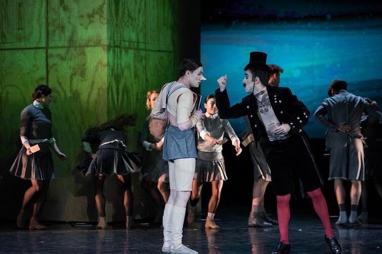 Spektakl baletowy pt. Pinokio zobaczymy w Operze Bałtyckiej w niedzielę. Choreografia Giorgio Madia