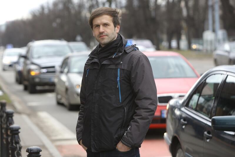Marcin Szałomski - pomysłodawca aplikacji Tristar Eye