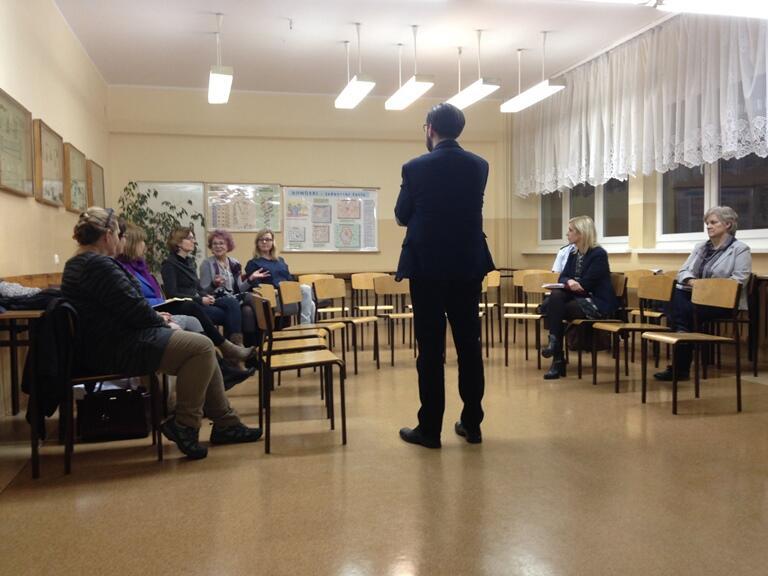 Warsztaty dla mieszkańców dzielnicy Młyniska