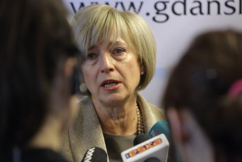 Małgorzata Kolasińska, przewodnicząca Rady Programowej projektu przebudowy ul. Długiej i Długiego Targu