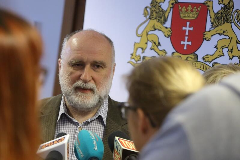 Grzegorz Sulikowski z Rady Programowej projektu przebudowy ul. Długiej i Długiego Targu