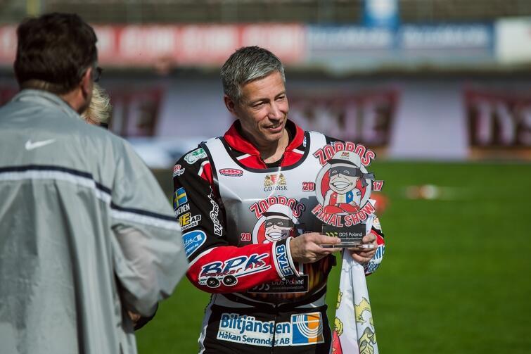 Magnus Zetterström pożegnał się z gdańskimi kibicami