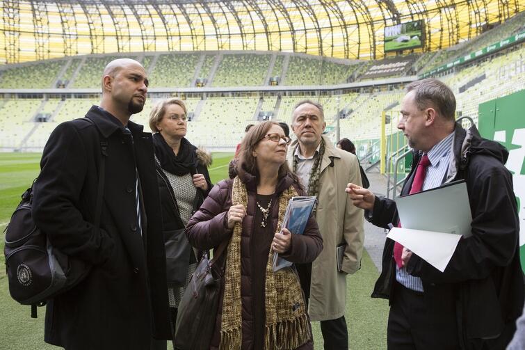 Delegaci ONZ odwiedzili m.in. Stadion Energa Gdańsk, Amber Expo, a nawet parking między nimi mogłyby się stać gigantycznym centrum konferencyjnym