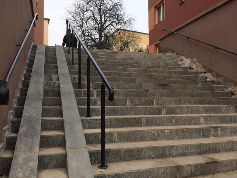 Na Siedlcach w ogóle nie było dyskusji - remont schodów był niezbędny w tej dzielnicy