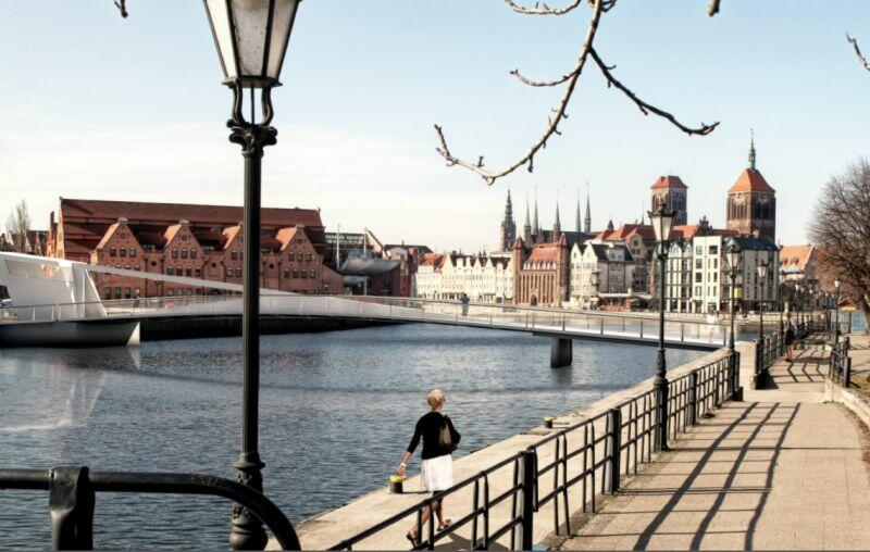 Tak będzie wyglądać nowy zwodzony most w Gdańsku