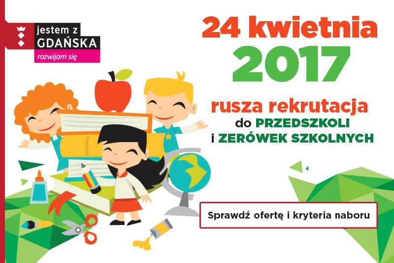 Rekrutacja do przedszkoli publicznych? W Gdańsku - od 24 kwietnia