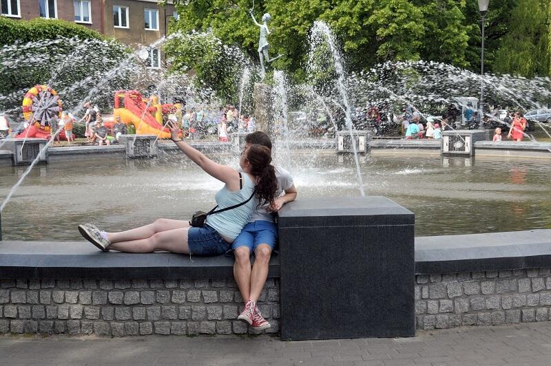 Fontanna Grassowska przy Placu Wybickiego