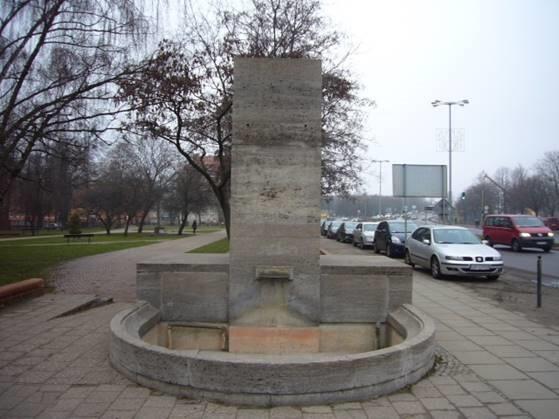 Fontanna Grenadierów powstała w 1933 roku