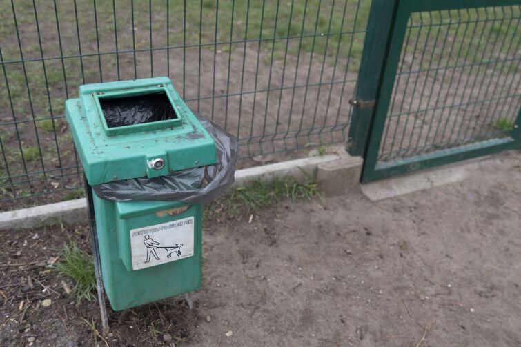 Wybieg dla psów przy ul. Rzepichy