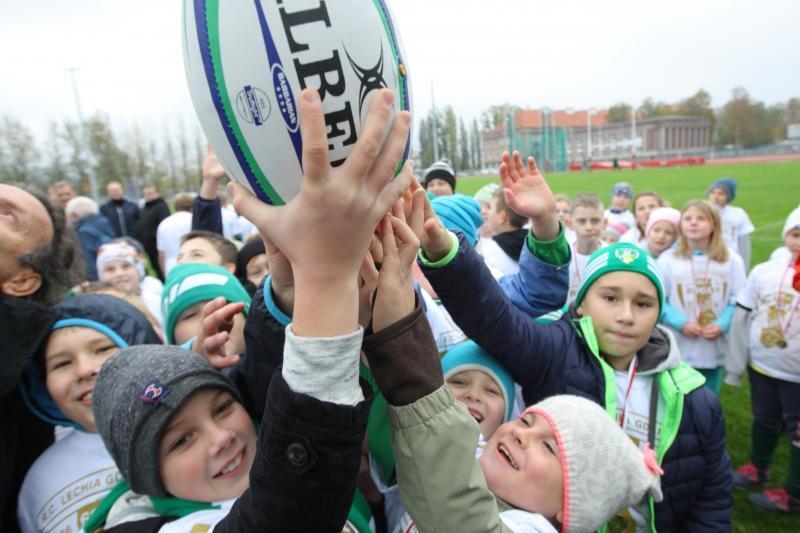 22 października 2016 roku, otwarcie Gdańskiego Stadionu Lekkoatletyczny i Rugby przy al. Grunwaldzkiej 244
