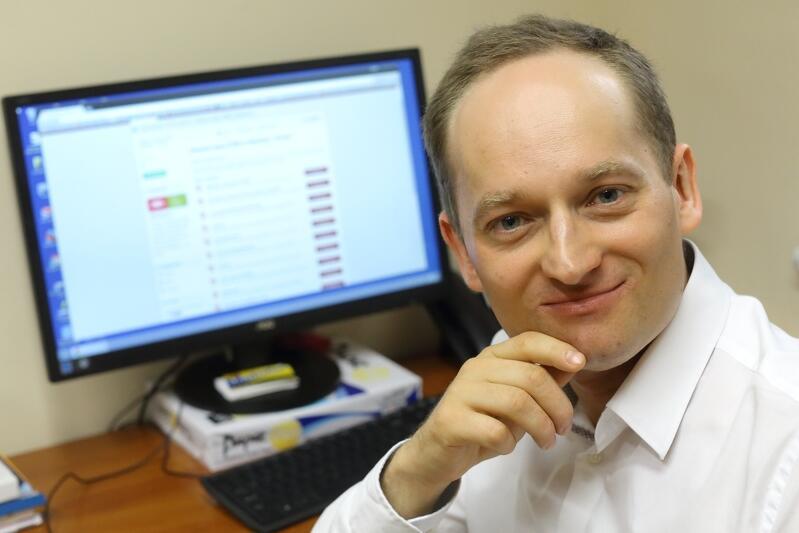 Krzysztof Garski z zespołu ds. otwartych danych w kancelarii Prezydenta Miasta Gdańska: - Dane dotyczące komunikacji miejskiej są najbardziej pożądane przez programistów
