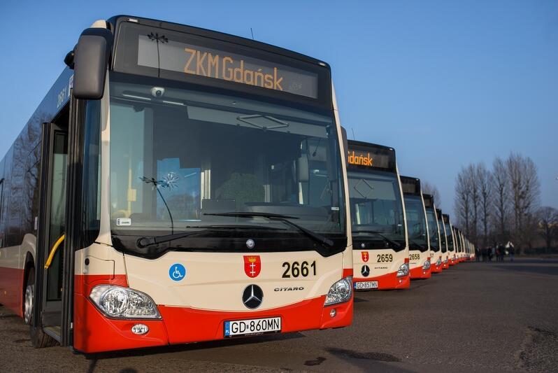 Autobusy Citaro, część  floty Gdańskich Autobusów i Tramwajów od grudnia 2016 r.