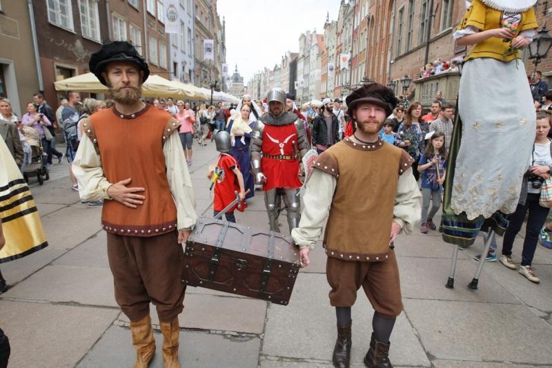 28 maja 2016 roku, wielka historyczna parada ulicami Gdańska