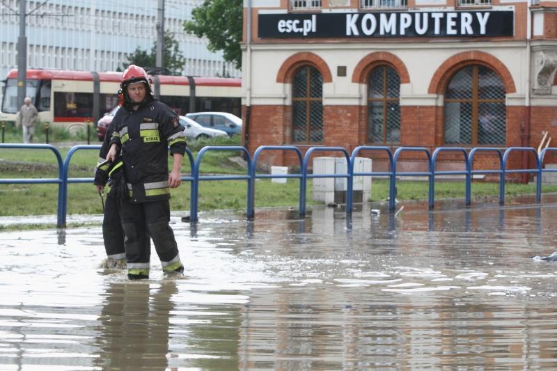 W lipcu 2016 r. groźna ulewa nawiedziła Gdańsk, powodując m.in. paraliż komunikacyjny