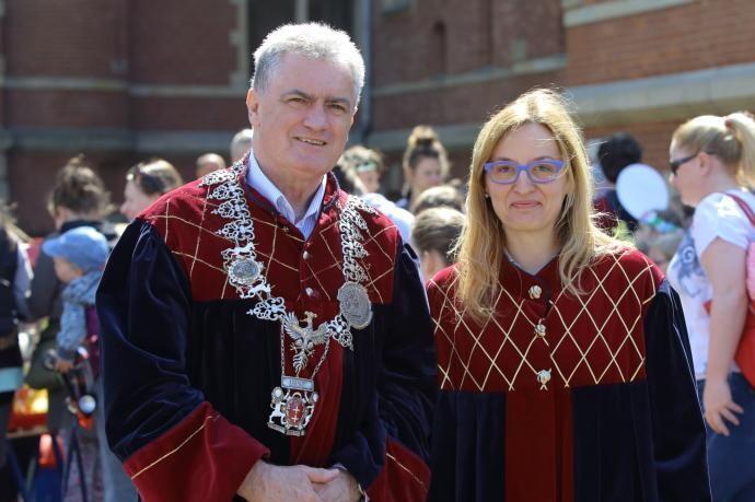 Bogdan Oleszek i Agieszka Owczarczak