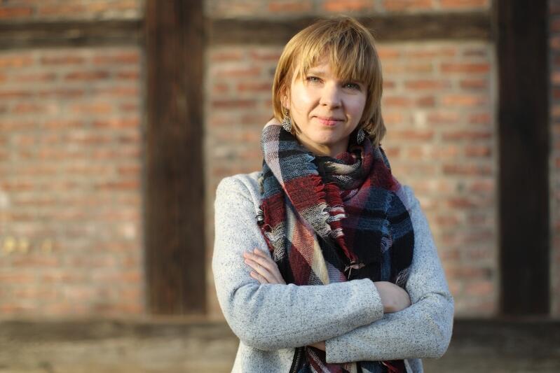 Anna Golędzinowska, przewodnicząca zarządu Rady Dzielnicy Aniołki