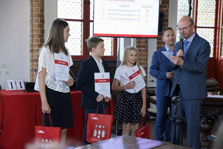 Zwycięzcy Olimpiady z gdańskich szkół podstawowych
