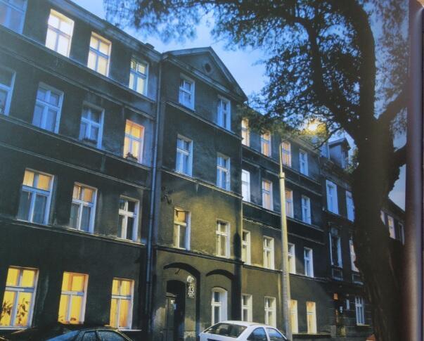 Dom Güntera Grassa przy ulicy Lelewela; 2017