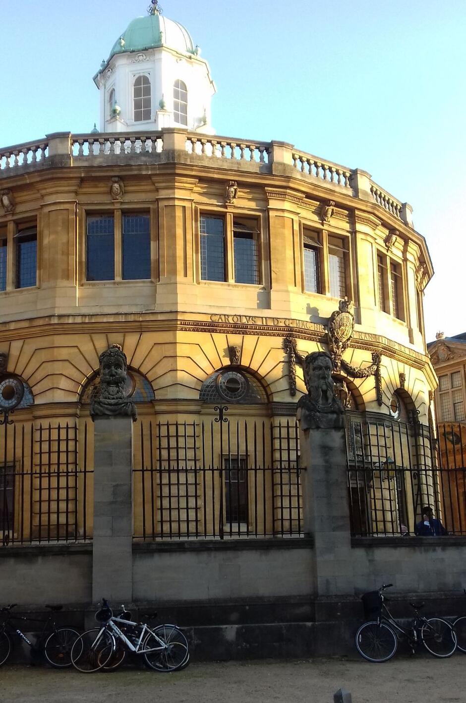 Sheldonian Theatre, gdzie co roku odbywa się matriculation