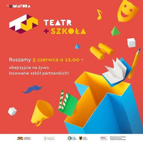 """W czerwcu Miejski Teatr Miniatura rozpoczyna realizację projektu """"Teatr i szkoła"""" dofinansowanego ze środków Ministerstwa Kultury i Dziedzictwa Narodowego, do którego zaprosi dwie klasy V z dwóch gdańskich szkół."""