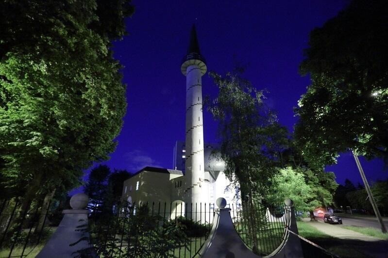 Gdański meczet przy przy ul. Abrahama