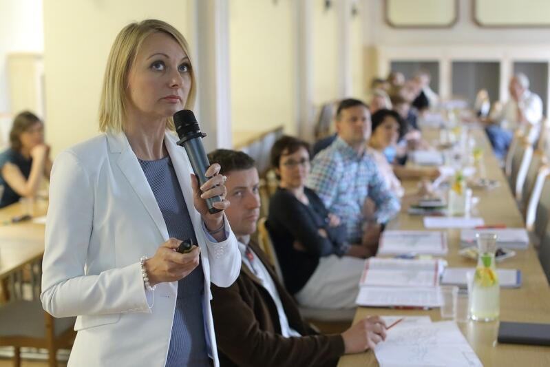 Założenia nowego studium przedstawiła obecnym Edyta Damszel-Turek, szefowa Biura Rozwoju Gdańska