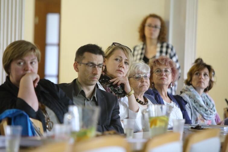 We wtorkowym spotkaniu uczestniczyli m.in. miejscy i dzielnicowi radni Gdańska