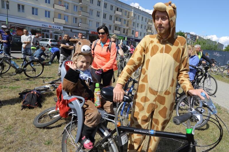 W tym roku organizatorzy stawiają na przebranie rowerów, sami rowerzyści także mogą założyć jakiś kostium